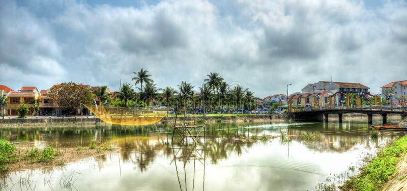 会安市越南 图库摄影