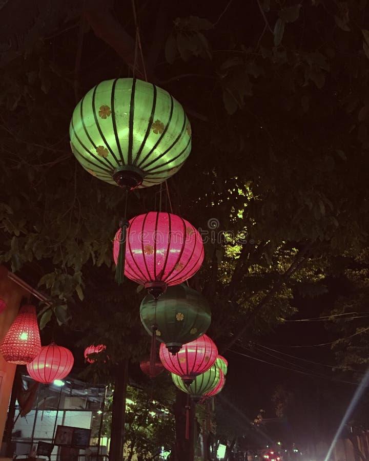 会安市-越南 免版税库存图片