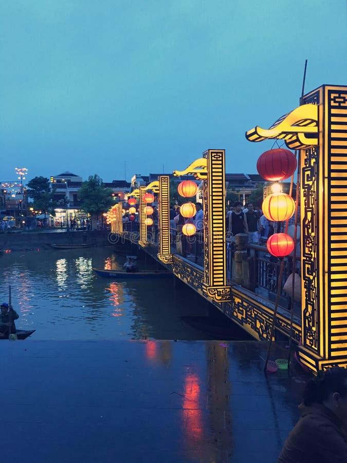 会安市-越南 免版税库存照片