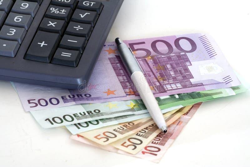 会计师工具 免版税库存图片