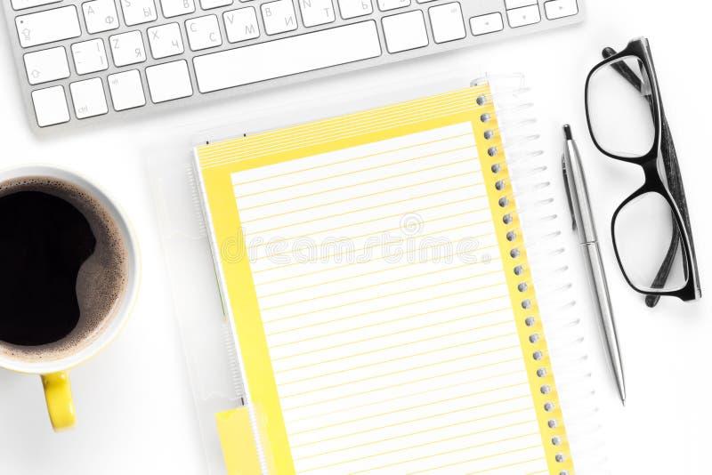 会计科目企业概念服务台办公室 图库摄影