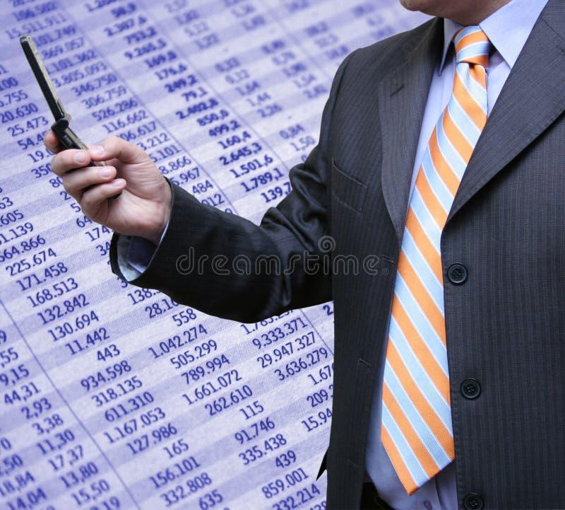 会计科目技术 免版税库存照片