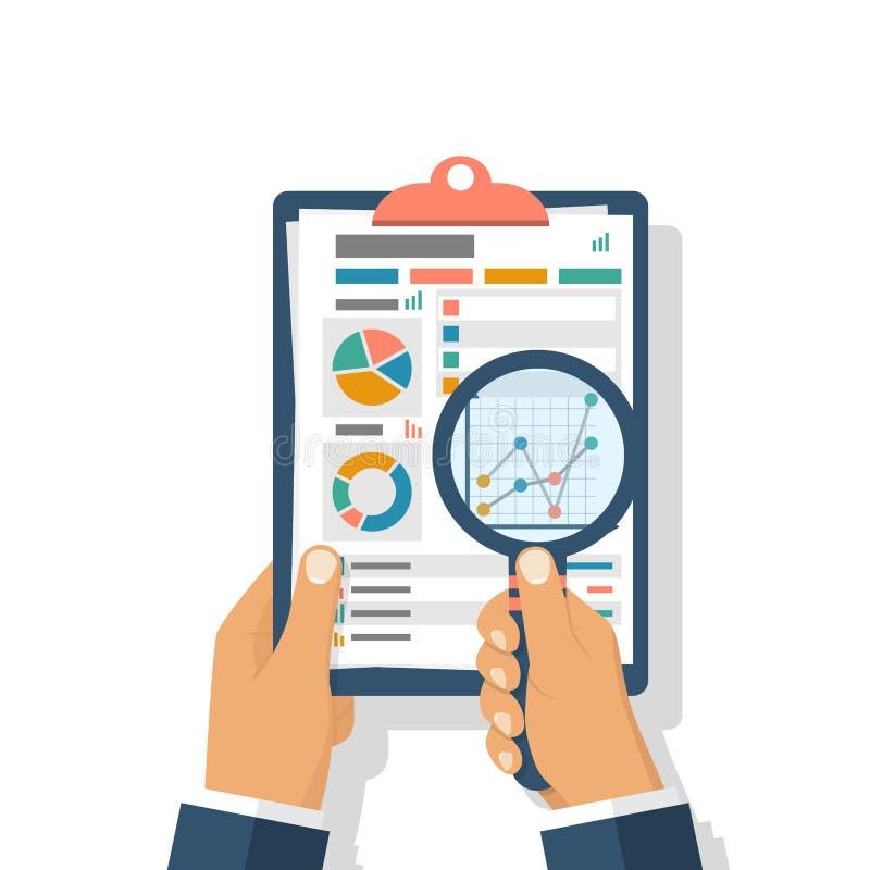 会计科目计算概念财务报表税务 库存例证