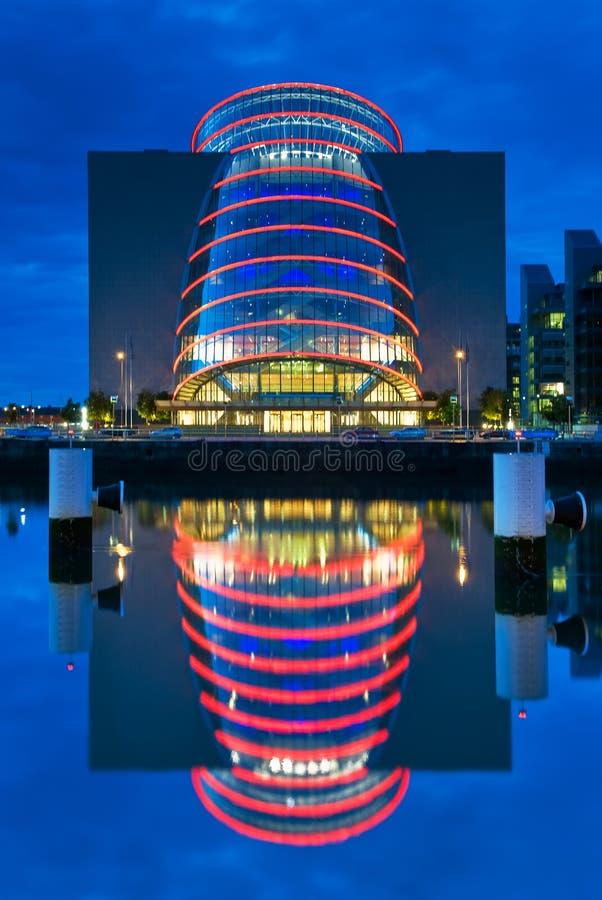 会议中心都伯林在爱尔兰 库存图片