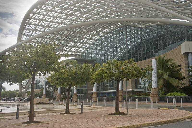 会议中心,圣胡安,波多黎各 免版税库存照片