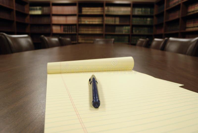 会议办公室空间 免版税图库摄影