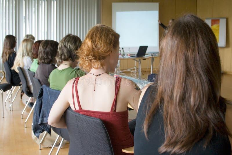 会议妇女 图库摄影