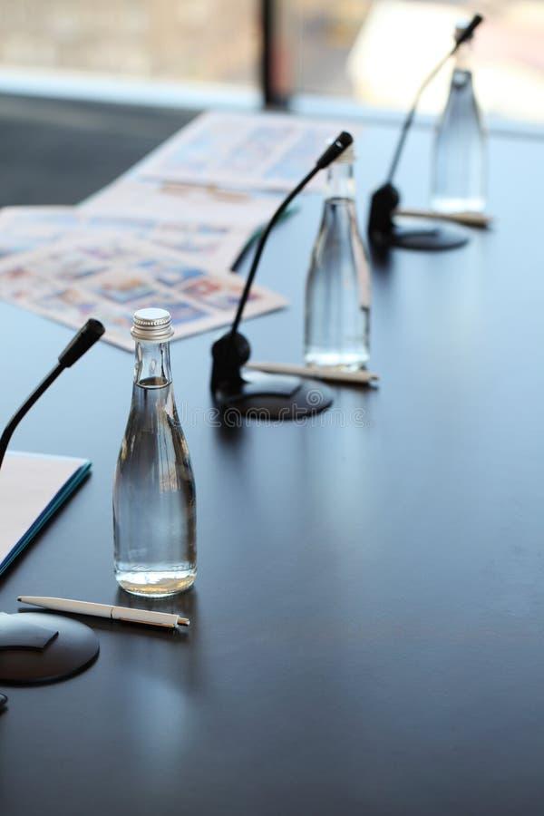 会议室表 免版税库存图片