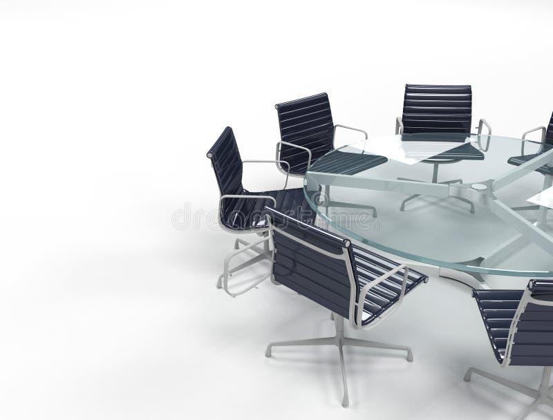 会议室 向量例证