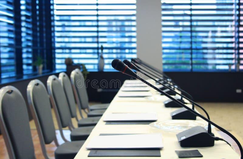 会议室 免版税库存图片