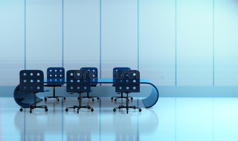 会议室 库存例证