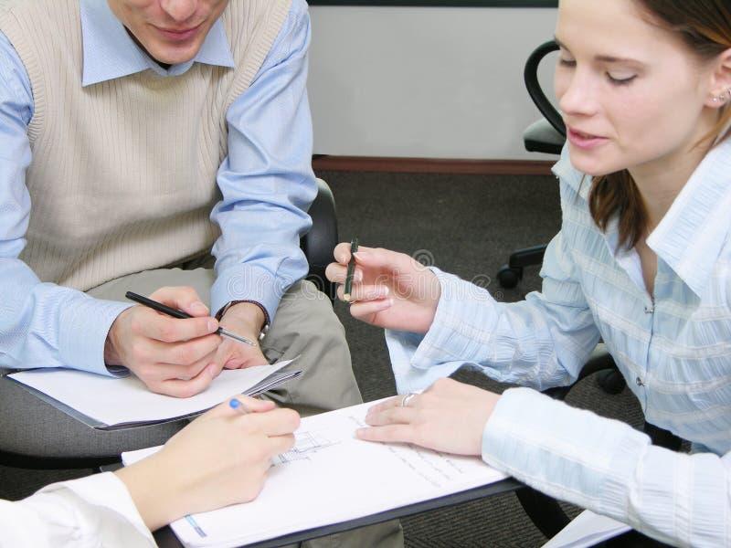 会议小组 免版税图库摄影
