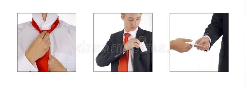 会议程序 免版税库存照片