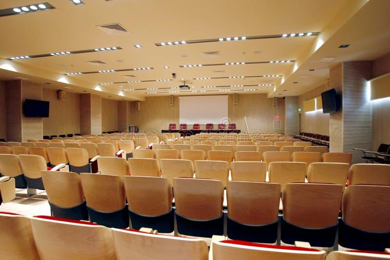 会议空的大厅 图库摄影