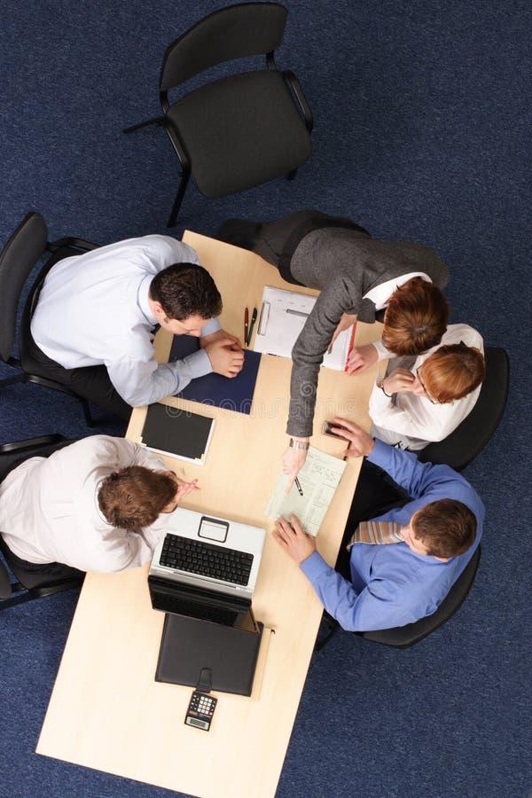 会议论述 免版税库存图片
