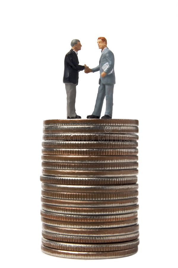 会议货币 免版税图库摄影