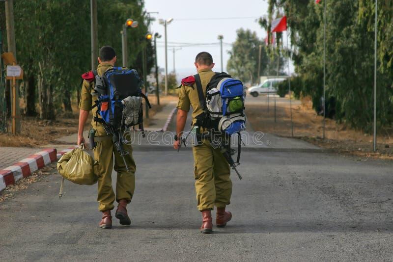 伞兵IDF 免版税库存照片