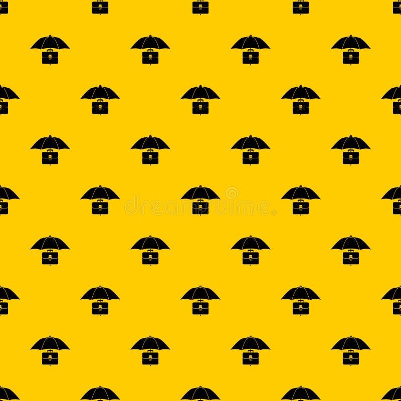 伞和企业案件样式传染媒介 向量例证