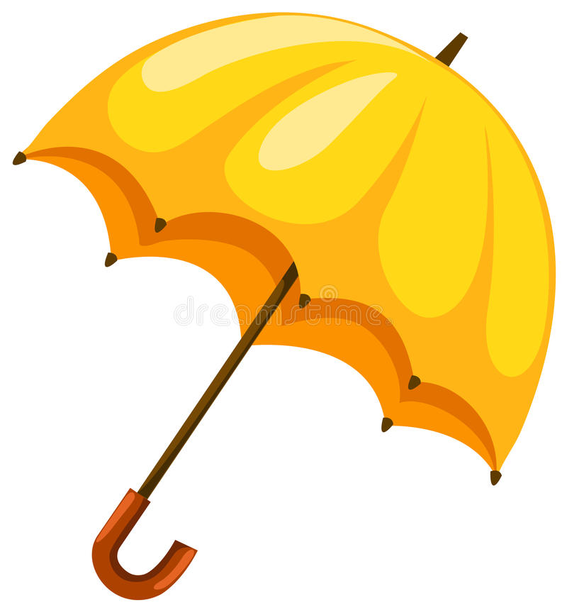 伞 库存例证