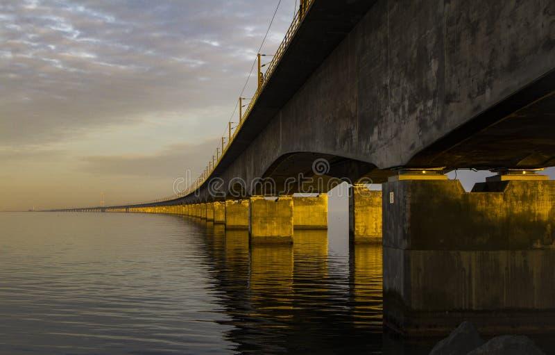 伟大的传送带桥梁 免版税图库摄影
