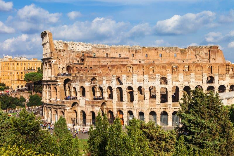 伟大的古老罗马斗兽场,罗马 库存图片
