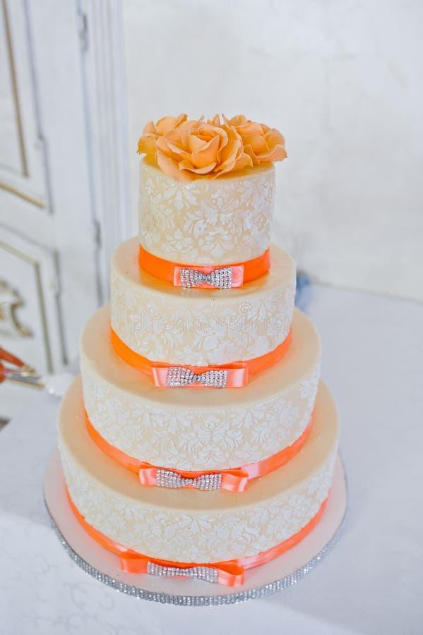 伟大的婚宴喜饼 免版税库存图片