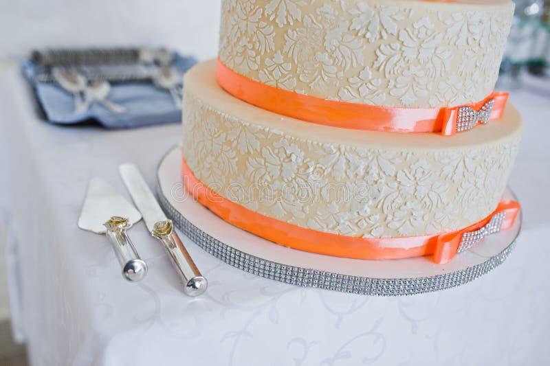 伟大的婚宴喜饼 免版税图库摄影