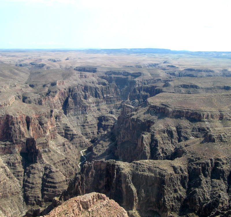 伟大的峡谷 免版税库存照片