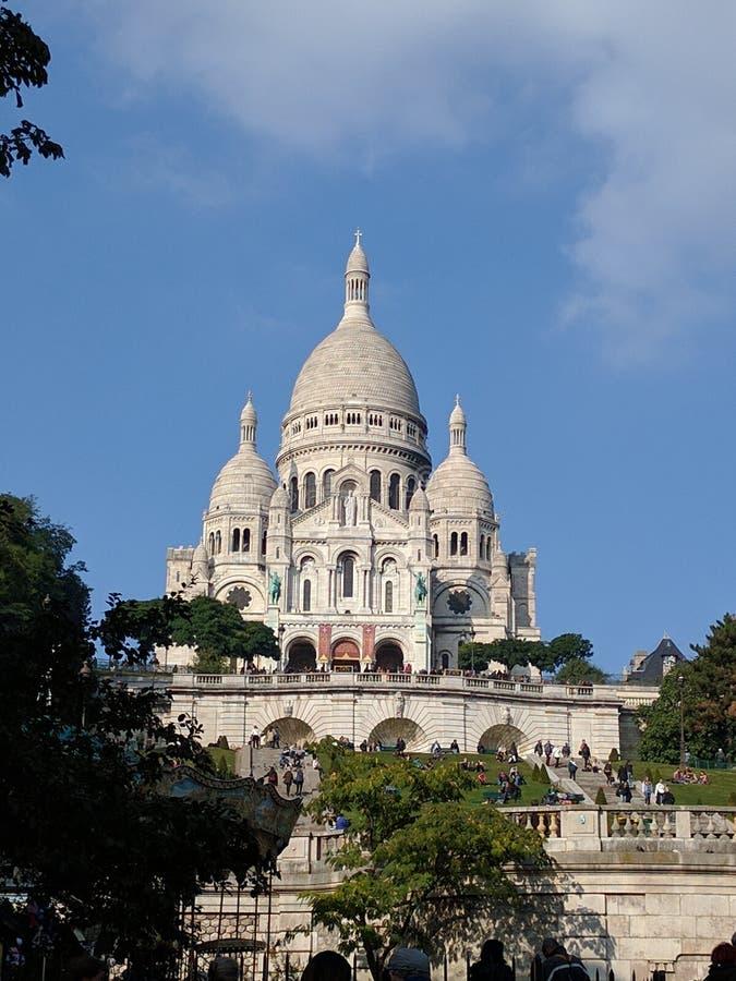 伟大的纪念碑在巴黎 库存照片