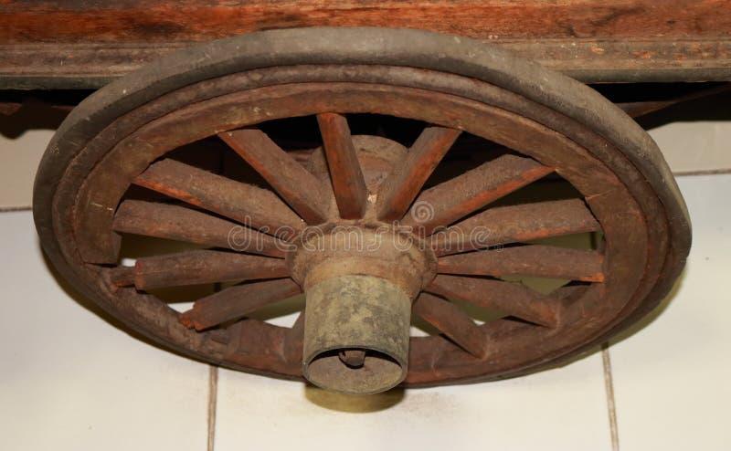 伟大的老轮子 免版税库存照片