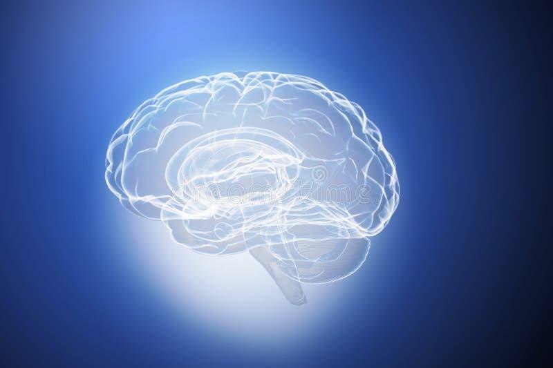 伟大的头脑能力 向量例证