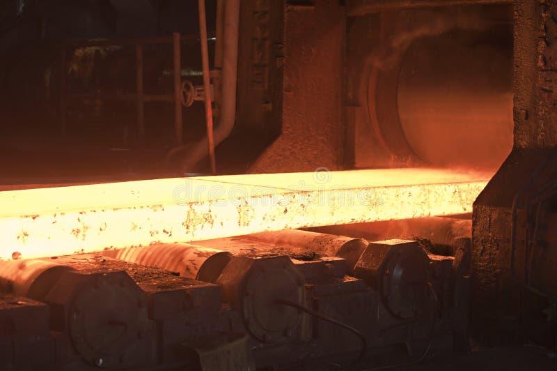 传动机热钢 图库摄影