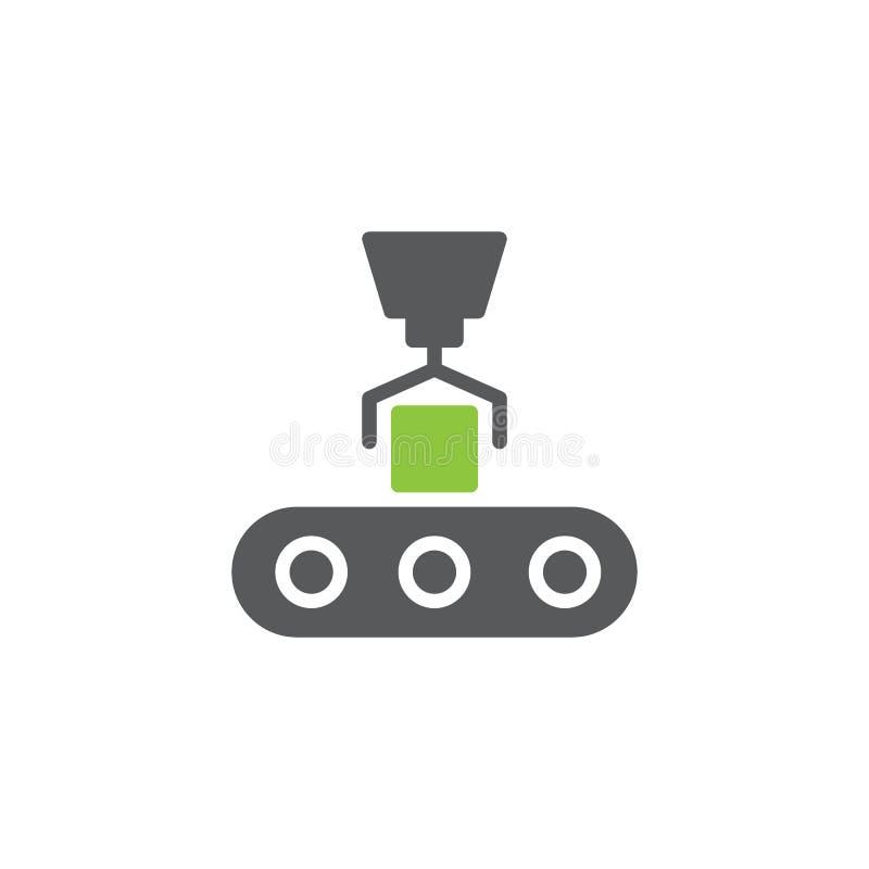 传动机装货象传染媒介 库存例证