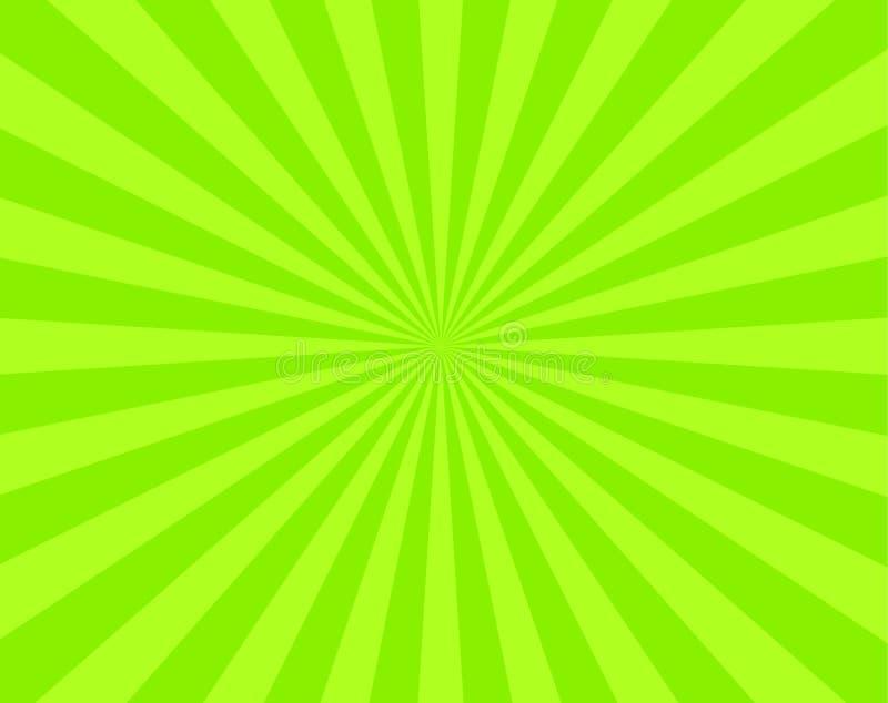 传单绿色数据条 皇族释放例证