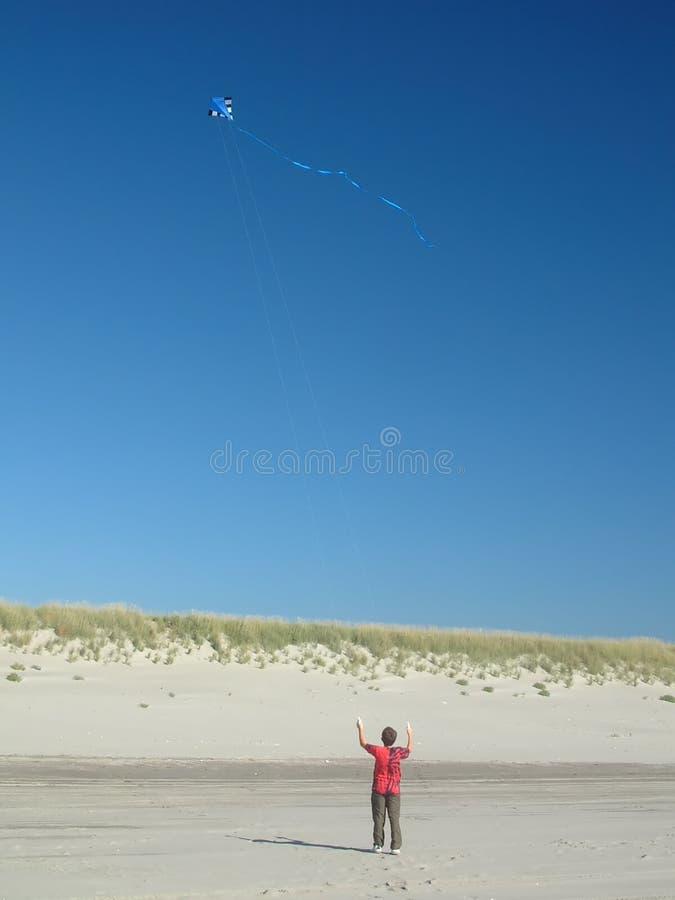 传单风筝 库存照片