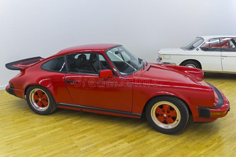 传奇保时捷911汽车 免版税库存照片