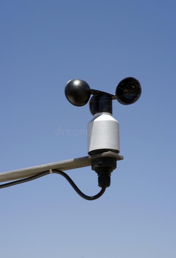 传感器风 免版税库存图片