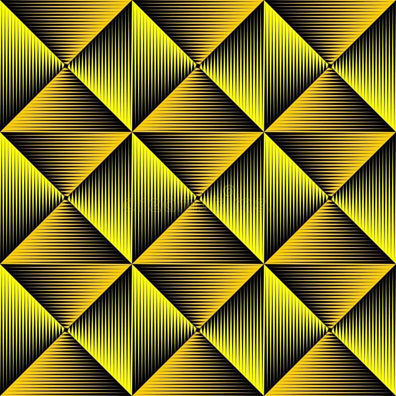 传染媒介三角纹理 抽象几何装饰品 库存例证