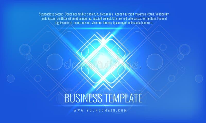 传染媒介企业盖子模板 并且可利用为公司年终报告,广告,营销小册子,飞行物 皇族释放例证
