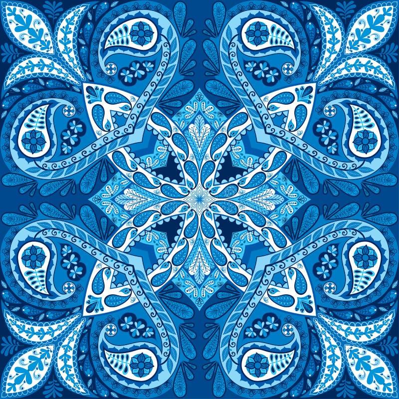 装饰, 设计, 典雅, 种族, 织品, 方式, 图象, 例证, 印第安语, 方巾图片
