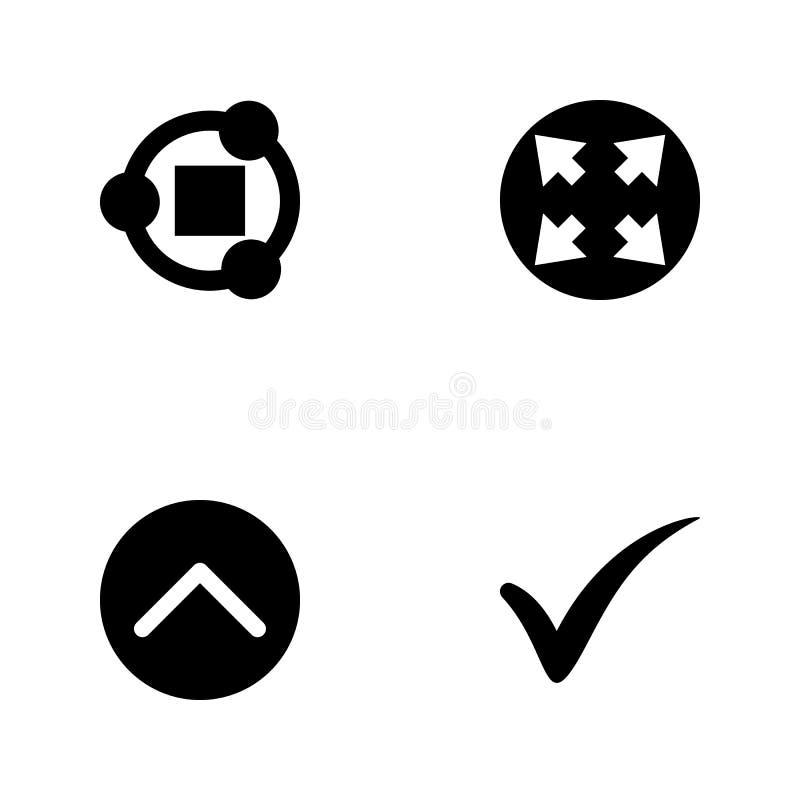 传染媒介例证集合网象 元素校验标志,签到回合,开放标志和份额标志象 皇族释放例证