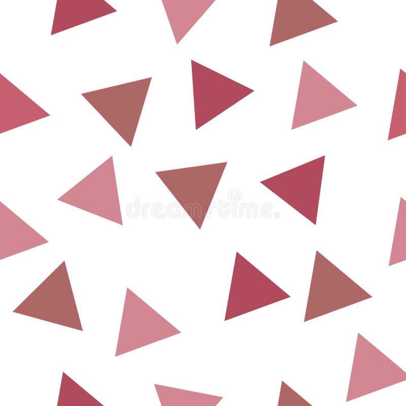 传染媒介几何形状无缝的重复样式 向量例证
