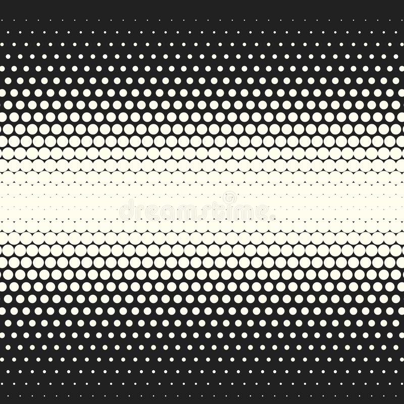 传染媒介单色圈子中间影调背景 皇族释放例证
