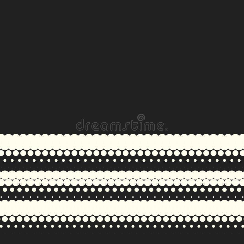 传染媒介单色圈子中间影调背景 向量例证
