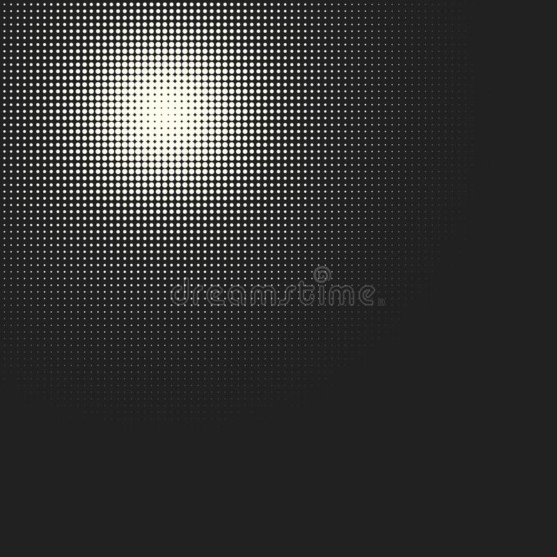 传染媒介单色圈子中间影调背景 库存例证
