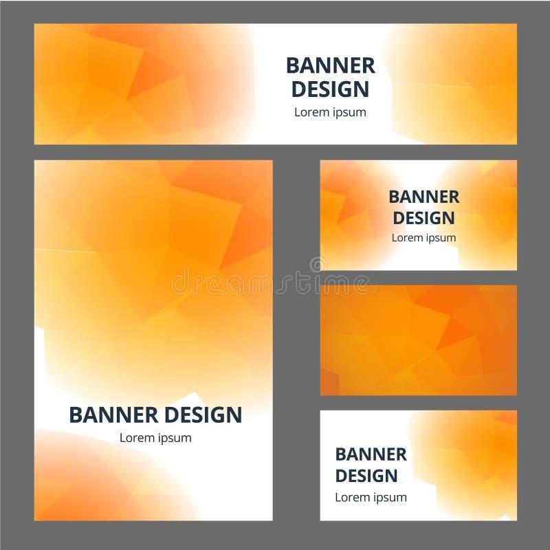 传染媒介固定式大模型套现实办公室对象以抽象设计品牌身份 白色文具集合项目 库存例证