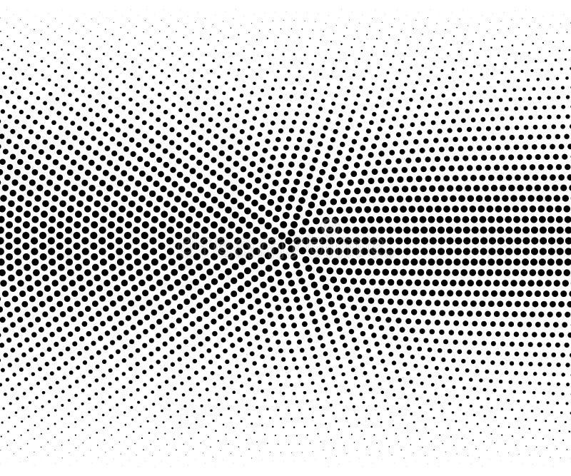 传染媒介圆的半音作用 梯度半音抽象背景 皇族释放例证