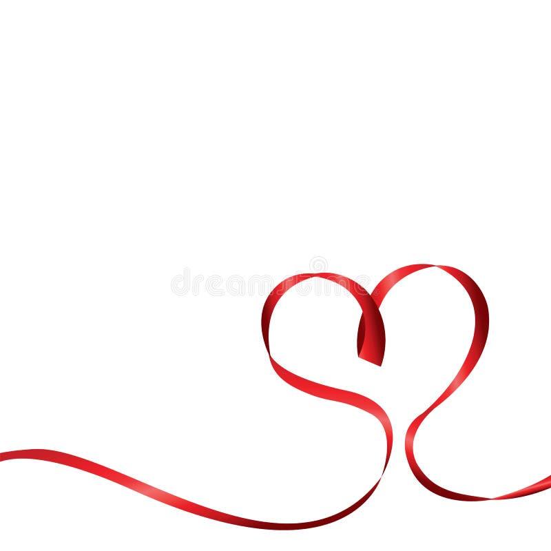 传染媒介在白色背景的心脏丝带图片