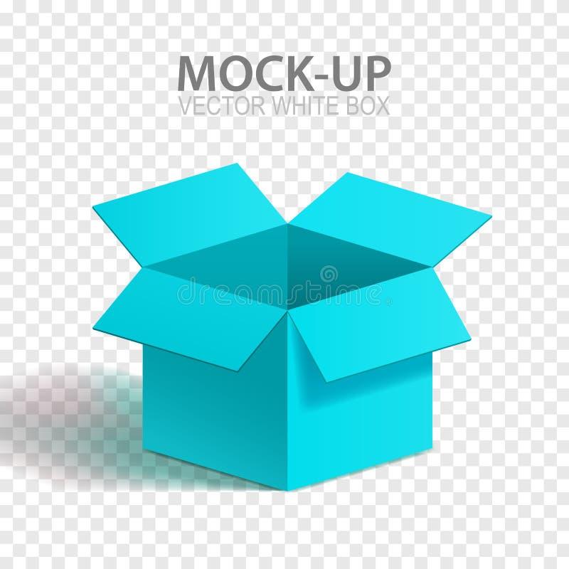 传染媒介大模型箱子 向量例证