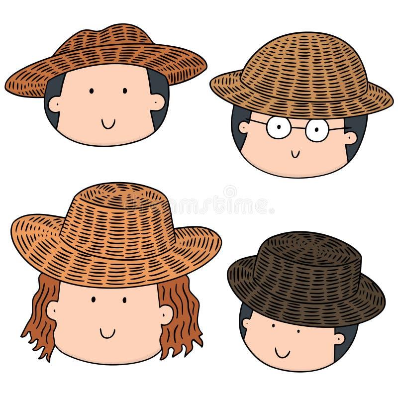 草帽农夫_传染媒介套有草帽的人